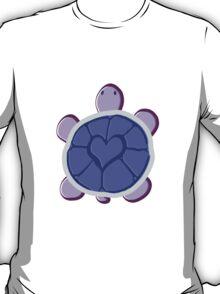 Purple Heart Turtle T-Shirt