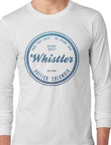 Whistler Ski Resort British Columbia Long Sleeve T-Shirt
