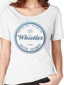 Whistler Ski Resort British Columbia Women's Relaxed Fit T-Shirt