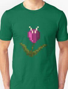 Purple Pixel Flower T-Shirt