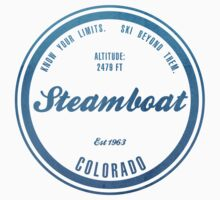 Steamboat Ski Resort Colorado by CarbonClothing