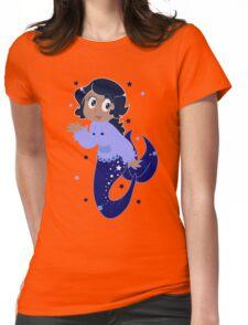 Star Mermaid Womens Fitted T-Shirt