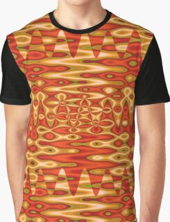 Orange Horizons Graphic T-Shirt
