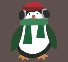 Snow Penguin  One Piece - Short Sleeve