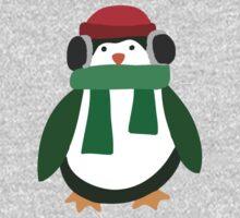Snow Penguin  One Piece - Long Sleeve