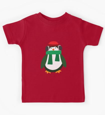 Snow Penguin  Kids Tee