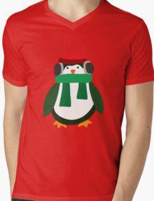 Snow Penguin  Mens V-Neck T-Shirt