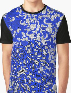 Bled Out Blue 1 Graphic T-Shirt
