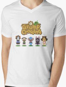 Game Grumps - Grump Crossing Mens V-Neck T-Shirt