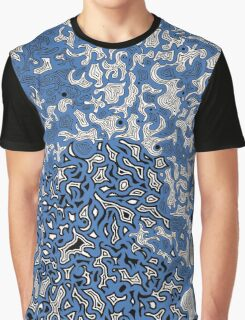 Bled Out Blue 2 Graphic T-Shirt