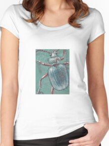 Shiny Beetle Women's Fitted Scoop T-Shirt