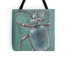 Shiny Beetle Tote Bag