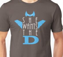 She Wants The D Grayson Unisex T-Shirt
