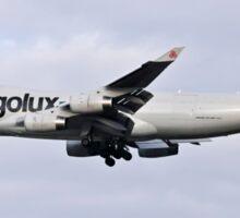 LX-TCV Cargolux Italia Boeing 747-4R7F at Milan - Malpensa Sticker