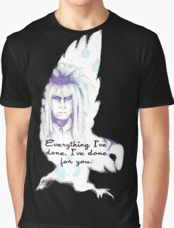 Labyrinth Everything I've Done Owl Graphic T-Shirt