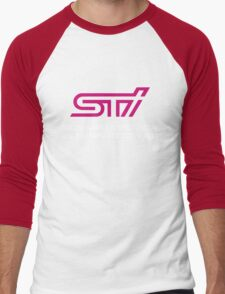 Subaru Tecnica International  Men's Baseball ¾ T-Shirt