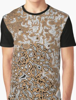 Bled Out Tan Graphic T-Shirt