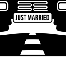Just Married – From now on, she determines which way to go! (UK) Sticker