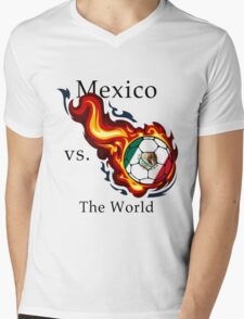 World Cup - Mexico Versus the World Mens V-Neck T-Shirt