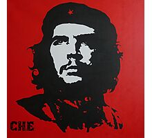 Red Che Photographic Print