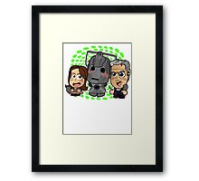 Chibi Doctor Who 12th Doctor Framed Print