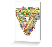 The Impossible Board Game Greeting Card
