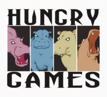 Hungry Hippo Games Baby Tee