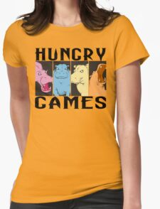 Hungry Hippo Games Womens Fitted T-Shirt