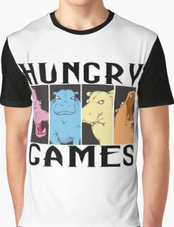 Hungry Hippo Games Graphic T-Shirt