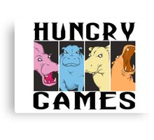 Hungry Hippo Games Canvas Print