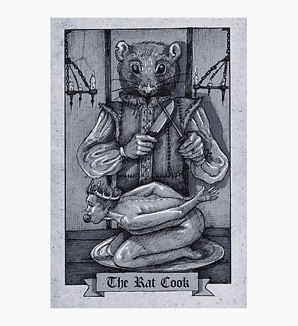 The Rat Cook Photographic Print