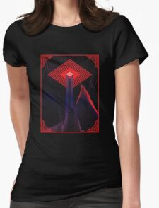 The All Seeing Eye Womens Fitted T-Shirt