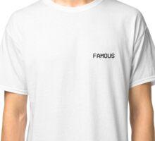 Kanye West Famous Music Video LA Stream Classic T-Shirt