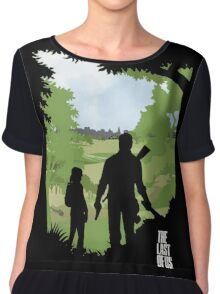 The Last of Us into the woods Chiffon Top