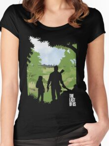 The Last of Us into the woods Women's Fitted Scoop T-Shirt