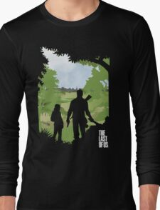 The Last of Us into the woods Long Sleeve T-Shirt