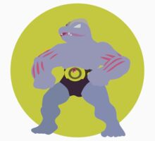 Machoke - Basic by Missajrolls