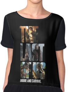 The Last of us Endure and survive Chiffon Top
