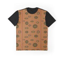 Circles and Stripes Graphic T-Shirt