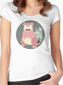 Slowbro - Basic Women's Fitted Scoop T-Shirt