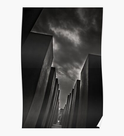 Holocaust Memorial / Berlin Poster