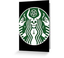 The Red Cup Greeting Card