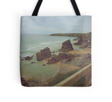 Cornish cliffs Tote Bag