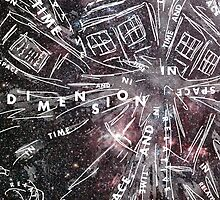 Time And Relative Dimension In Space by Chloe Plumridge