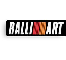 Ralliart  Canvas Print