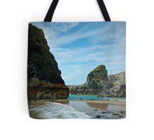 Sea side cliffs Tote Bag