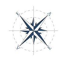 Compass Print by EdwardAlbert