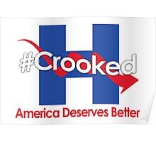 Lying Crooked Hillary - Presidential Elections 2016 - Anti Hillary - Hillary Lies - Clinton for Prison Poster