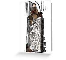 To Find A Way Out Greeting Card