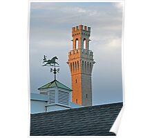 Pilgrim Monument: Provincetown, MA Poster